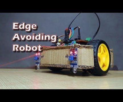 How to Make Arduino Based Edge Avoiding Robot