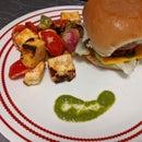 Paneer Tikka With Veggie Burger
