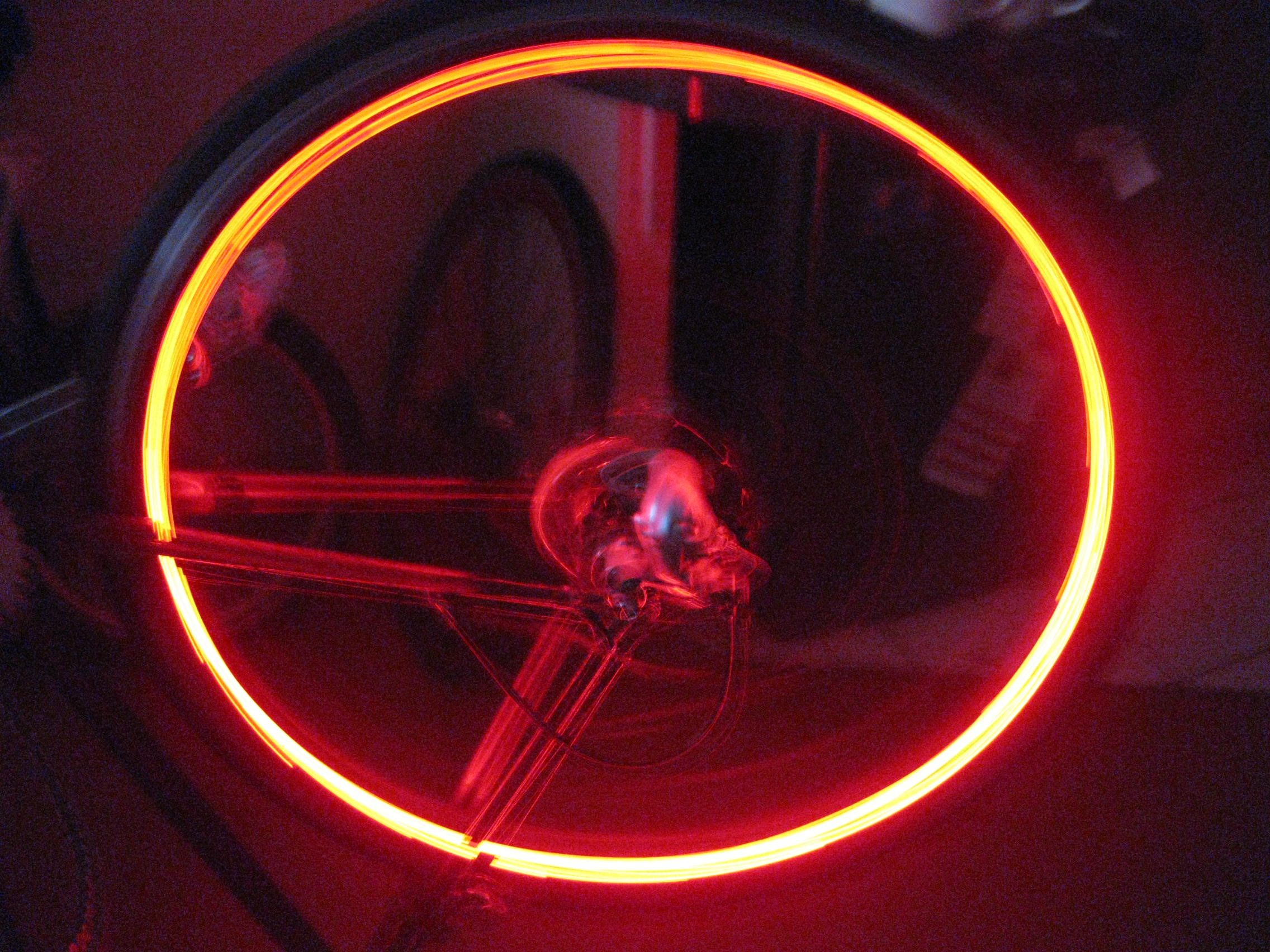 Embedded Bike Rim Lights