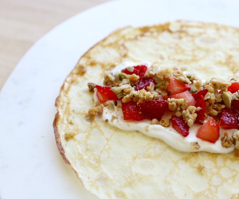 Easy 5-Minute Crepe Recipe