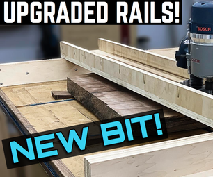 Making and Using Upgraded Router Sled Rails!
