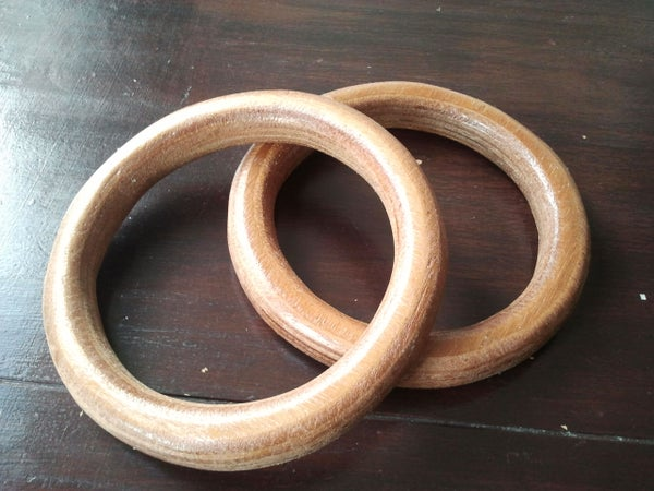 Wooden Olympic Rings