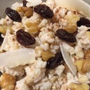 Coconut Brown Rice Pudding in a Slow Cooker