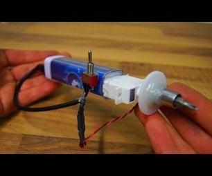 How to Make Servo Driven Screwdriver Tool - DIY
