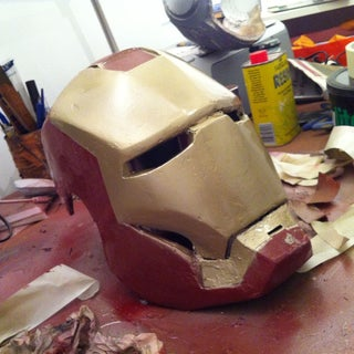 How to Make a Lifesize, Wearable Iron Man Helmet