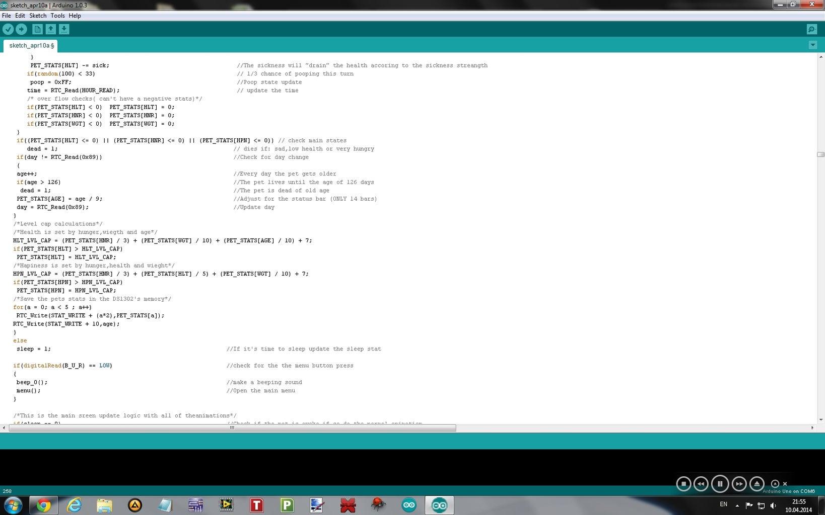 Software: Final Code