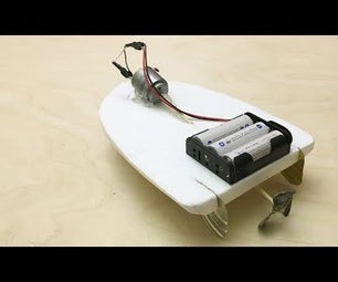 DIY Electric Toy Boat
