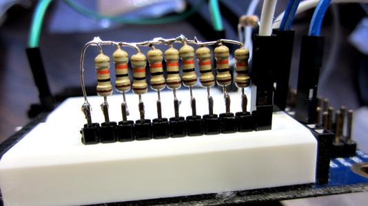Create the Resistor Network