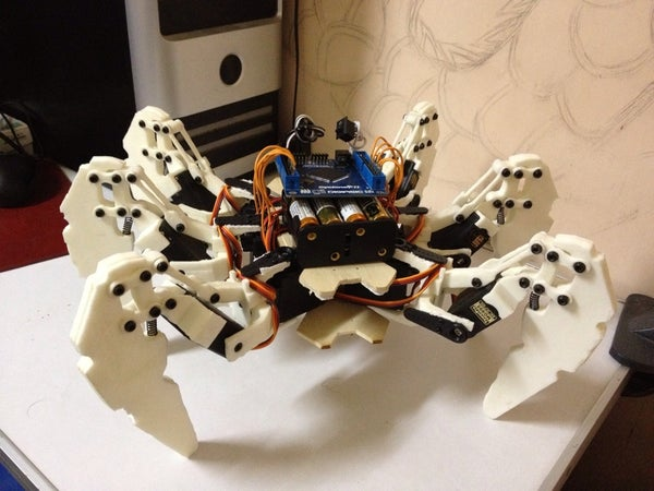 Hexapod Robot Based on FPGA