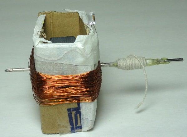 Electric Generator Powering LEDs