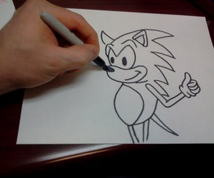 How to Draw Sonic the Hedgehog Characters Step by Step Lesson