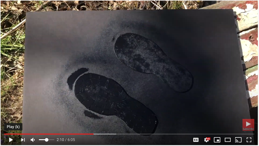 Paint Foot Pedal Black