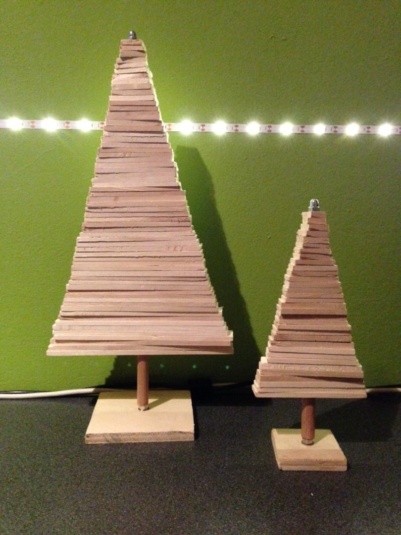 Wooden Christmas Tree 9 Steps With Pictures Instructables