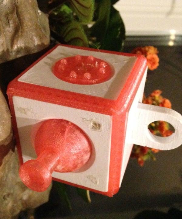 Fully 3D Printed Fidget Cube