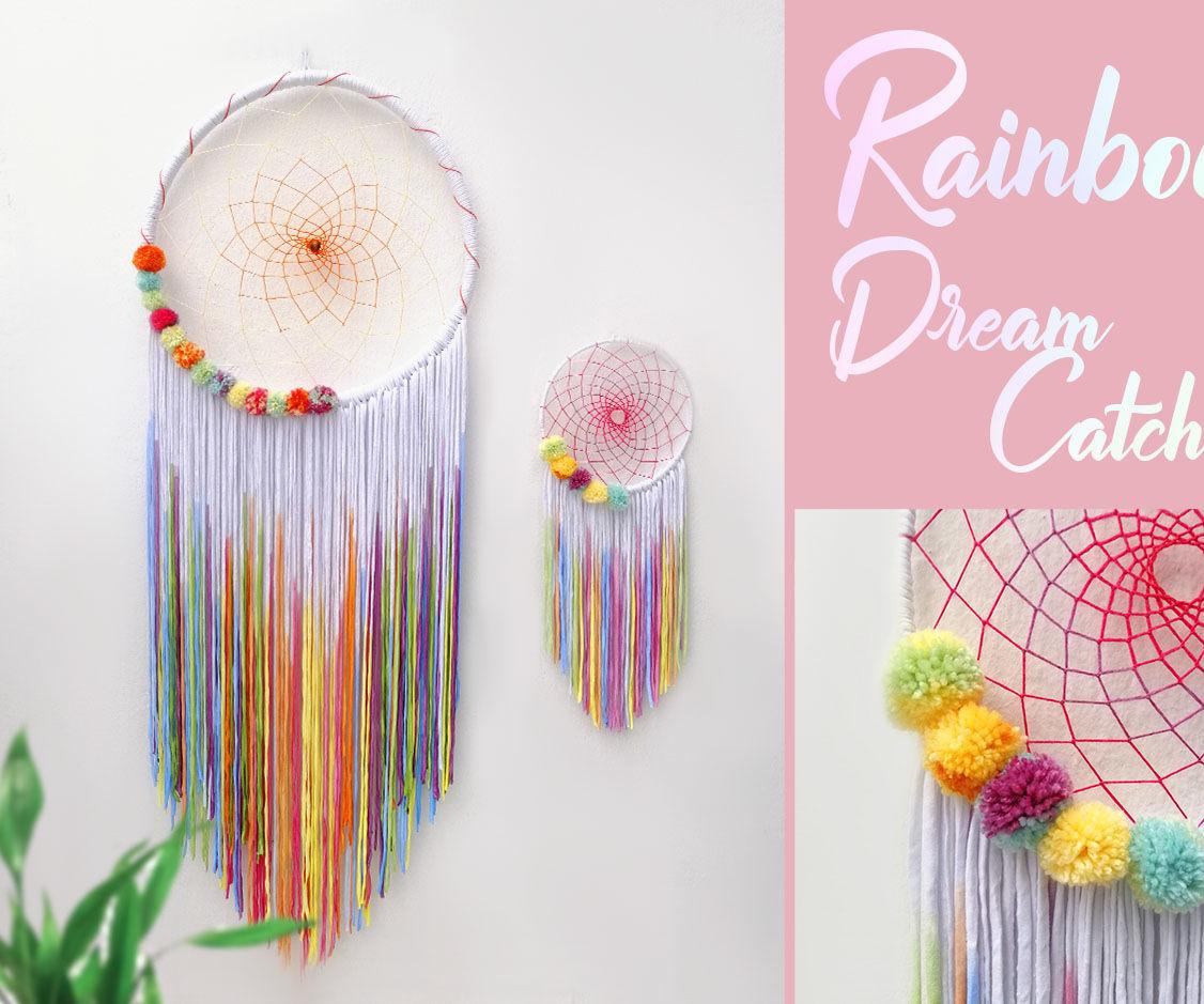 Rainbow Dream Catcher
