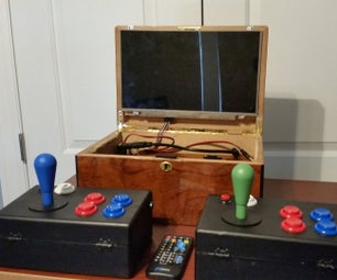 Portable Arcade and Media Player