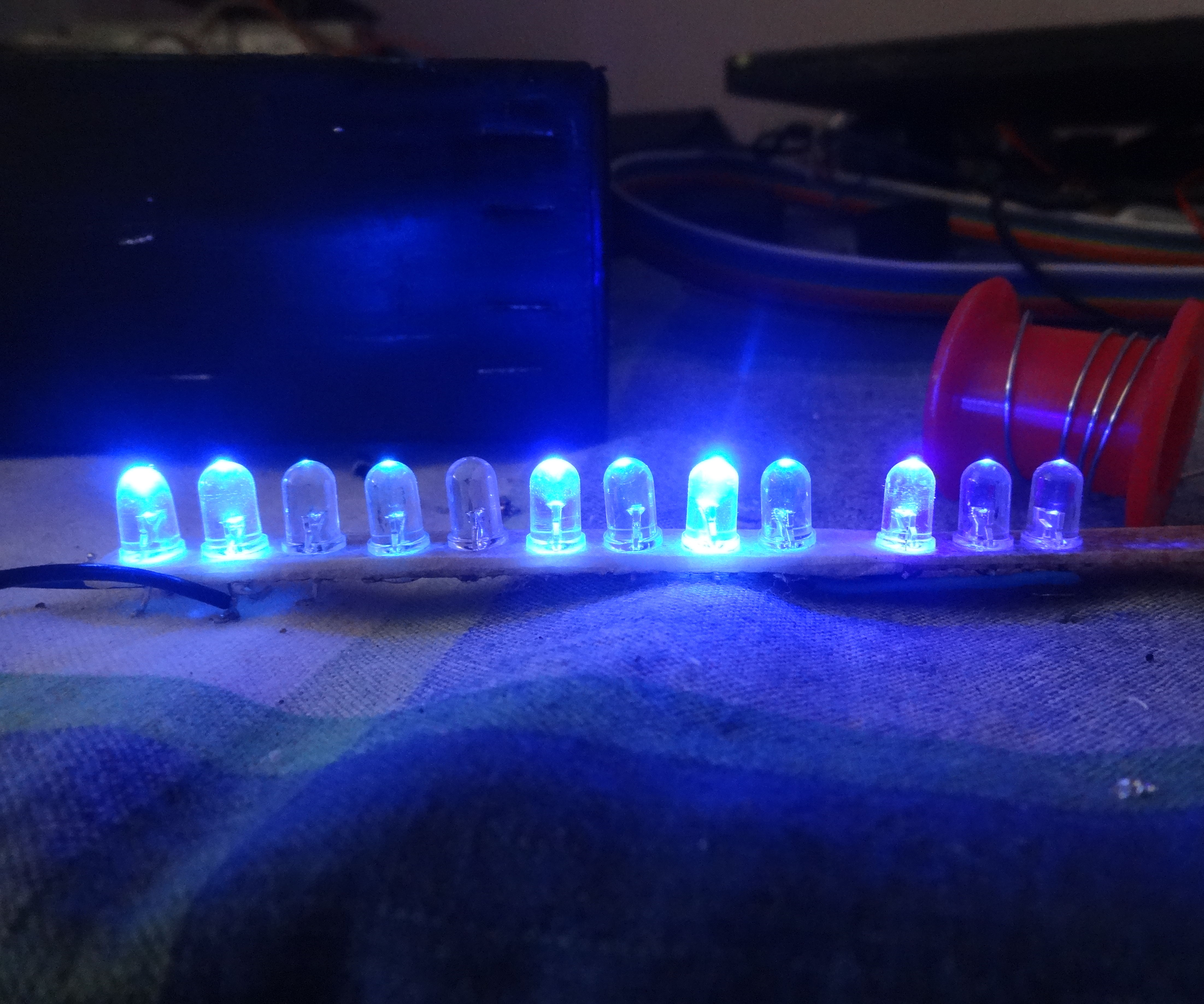 DIY MUSIC CONTROLLED LEDS