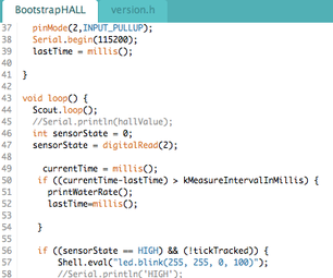 Save the World One Drop at a Time, Part 4: Uploading the Arduino Sketch Code