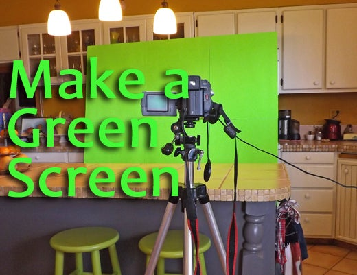 How to Make and Use a Green Screen