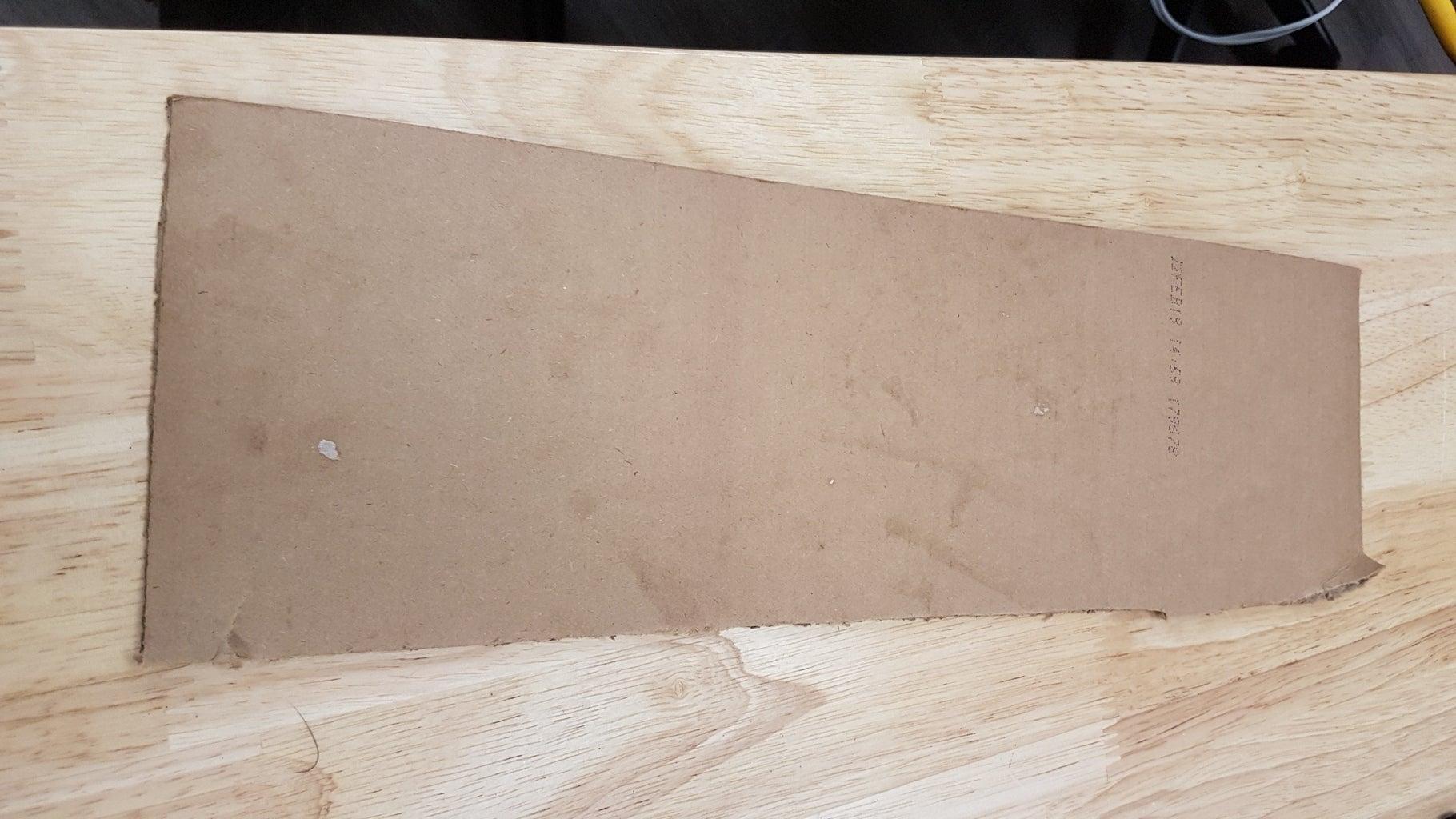 Step 1: Glue Down the Road