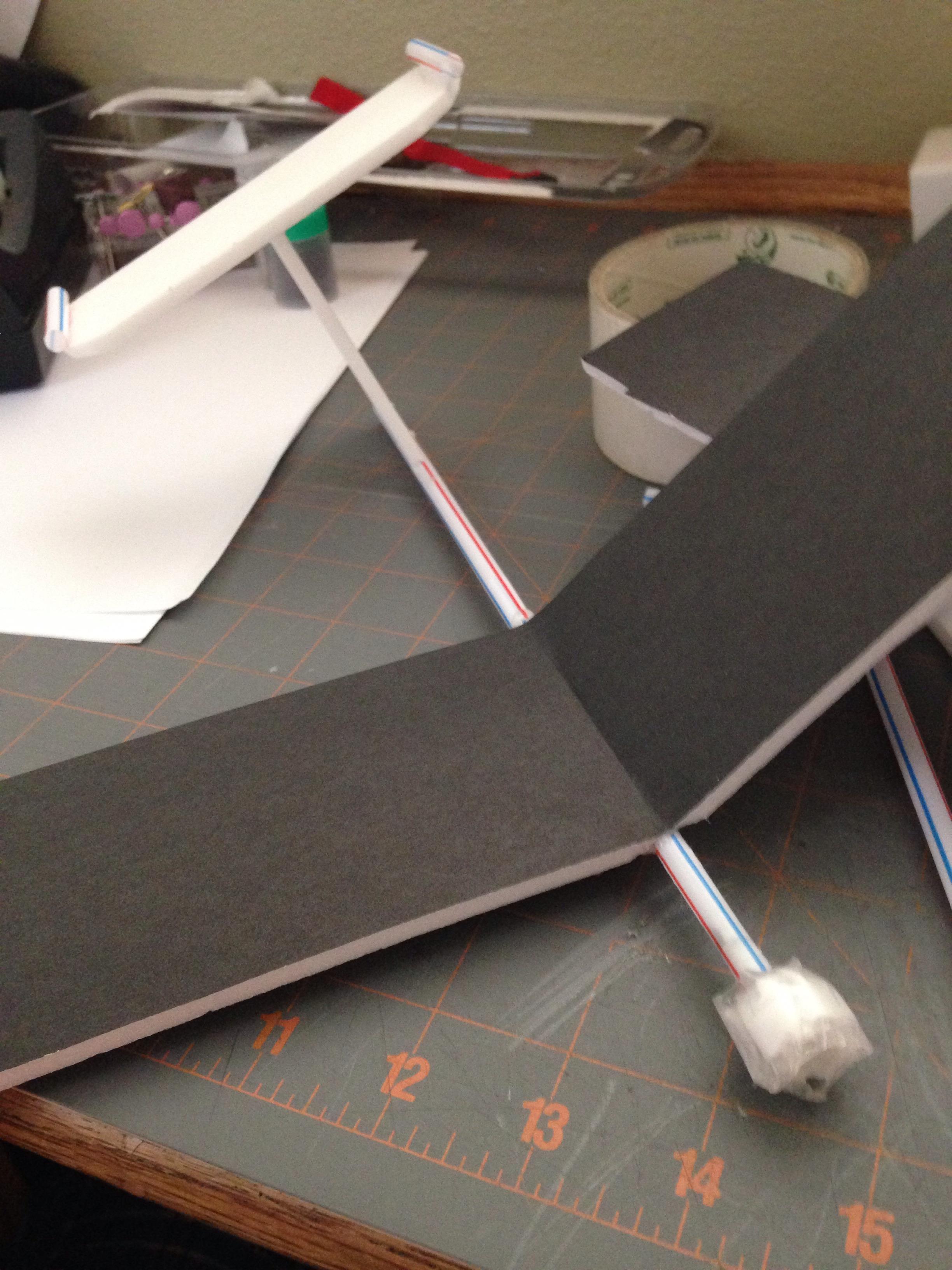 Cheap Easy Glider Plane