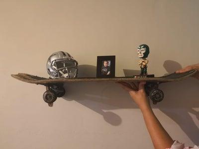 Skateboard Shelf Stand