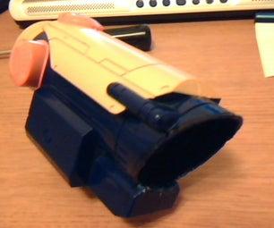 Nerf Longshot Scope Mod Into ACOG Style Scope