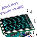Arduino + TFT =  Visual Music