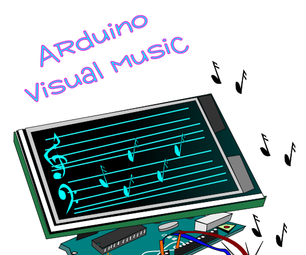 Arduino + TFT =  Visual Music