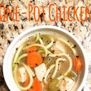 "One-Pot Chicken ""Zoodle"" Soup"