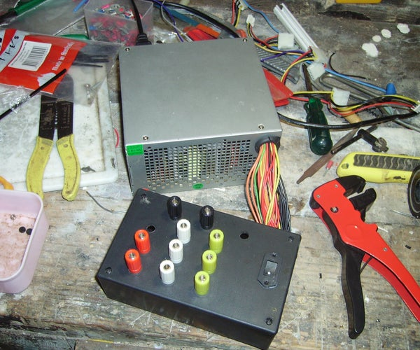 How to Hack a Computer Atx Power Supply