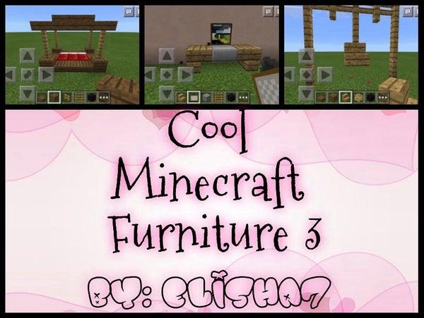 Cool Minecraft Furniture 4