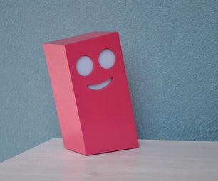 Is It a Smiling Night Light or a Pink Mood Light?