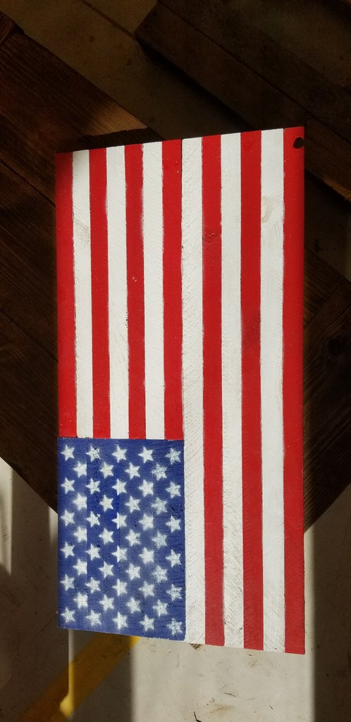 Now the Flag Is Finished