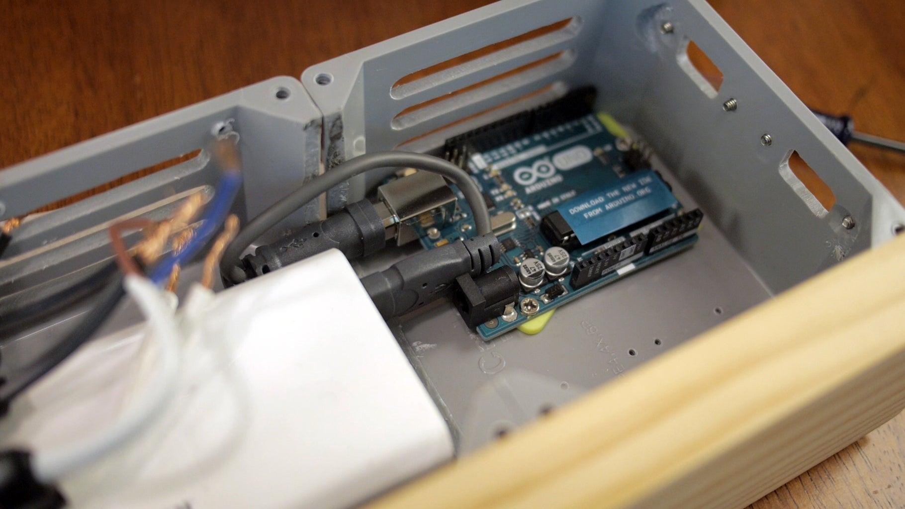 Mount Arduino in Enclosure