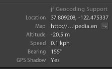 Exporting Photos With the Location Information