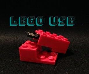 Secret Lego USB