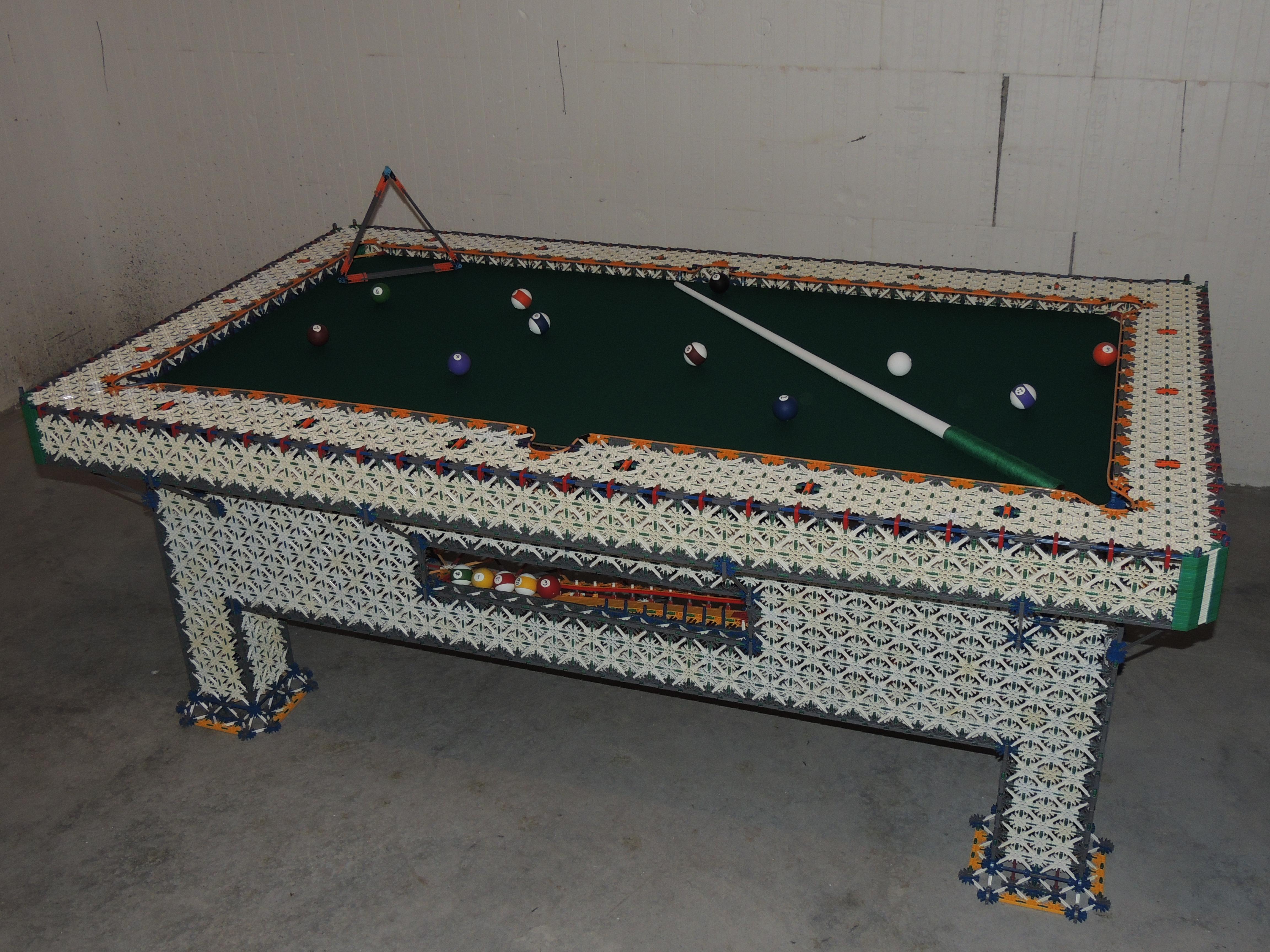 K'nex Pool Table