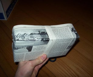 Wrap Presents With Pages From a Book