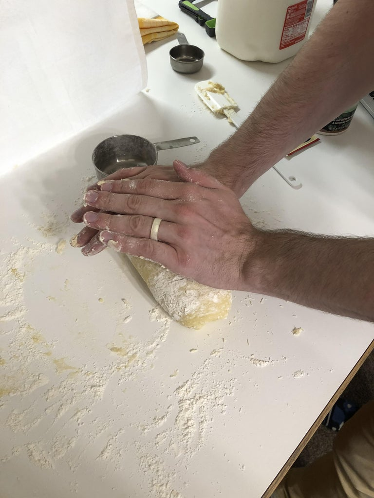 Forming and Kneading the Dough