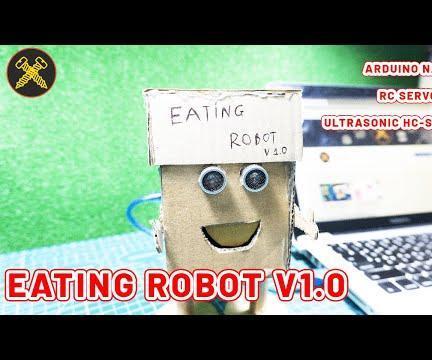 Make Eating Robot With Arduino Nano | Gold Screw