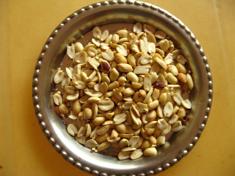 Roast the Peanuts