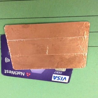 Disabling Contactless Payment on Debit Cards