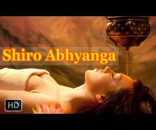 Shiro Abhyanga - Ayurvedic Indian Head Massage for Stress Relief