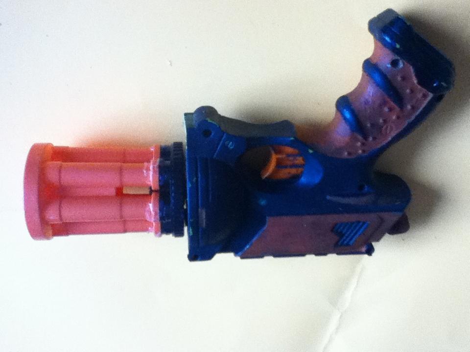 Nerf Minigun Pistol!!!!!