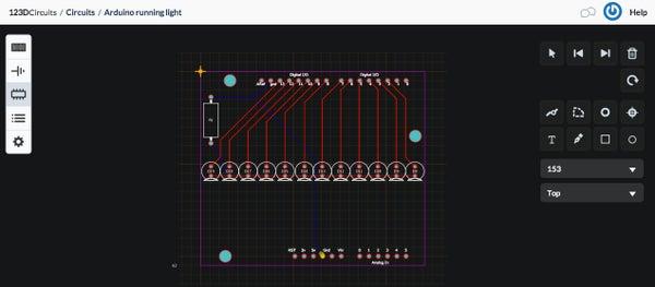 Breadboard to Custom Arduino Shield