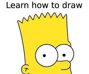 How to Draw Bart Simpson (The Simpsons)