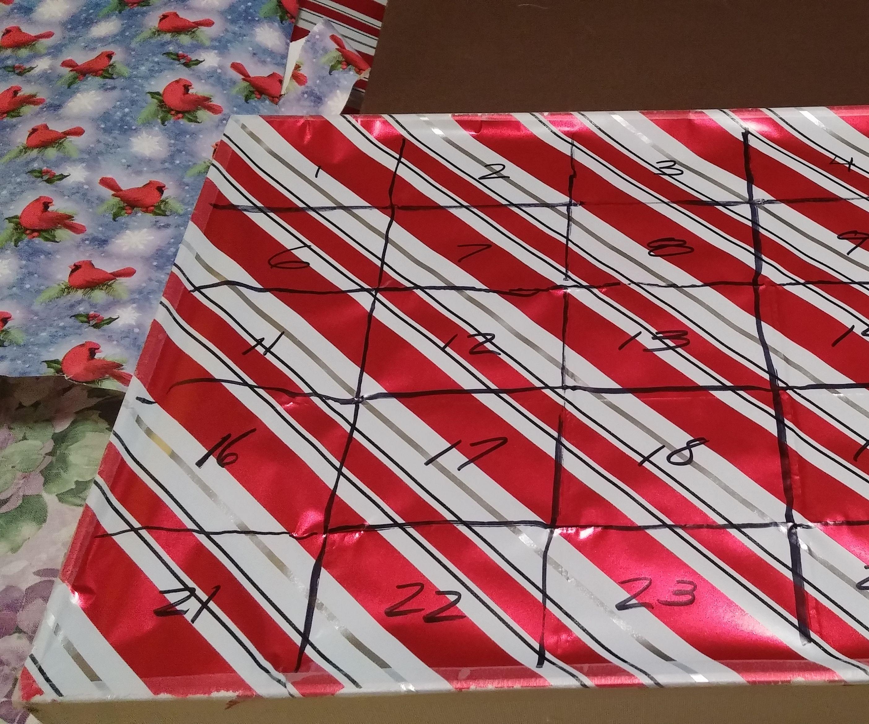 Advent Calendar Box