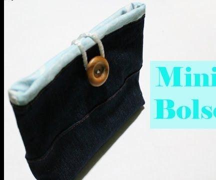 Mini Bolso De Jeans