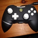 Xbox 360 Black and White Controller Color Mod